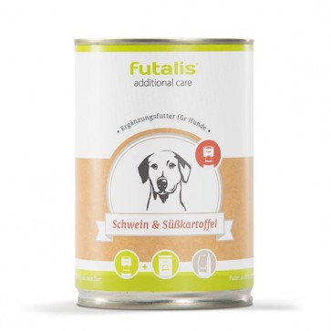 futalis additional care mit Schwein & Süßkartoffel 400 g Dose