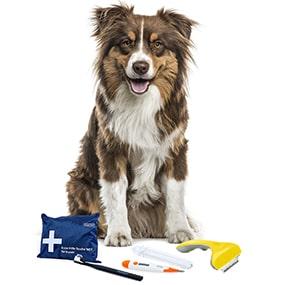 Produkte für die Hundepflege