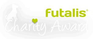 Logo weiß futalis Charity Award